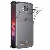 Hoesje Motorola Moto Z2 Play Flexi bumper - 0,3mm - doorzichtig