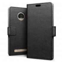 Hoesje Motorola Moto Z2 Play flip wallet zwart