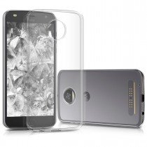Hoesje Motorola Moto Z2 Play hard case transparant
