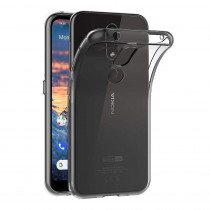 Hoesje Nokia 4.2 Flexi bumper - 0,3mm - doorzichtig