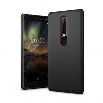 Hoesje Nokia 6.1 hard case zwart
