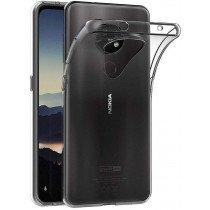 Hoesje Nokia 6.2 / 7.2 Flexi bumper - 0,3mm - doorzichtig