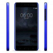 Hoesje Nokia 6 hard case blauw