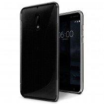 Hoesje Nokia 6 TPU case smoke