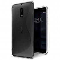 Hoesje Nokia 6 TPU case transparant