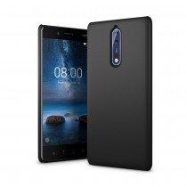 Hoesje Nokia 8 hard case zwart