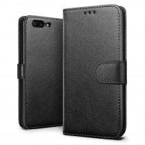 Hoesje OnePlus 5 flip wallet zwart