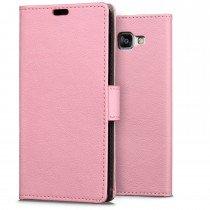 Hoesje Samsung Galaxy A3 2016 flip wallet roze