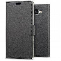Hoesje Samsung Galaxy A3 2016 flip wallet zwart