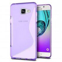 Hoesje Samsung Galaxy A3 2016 TPU case paars