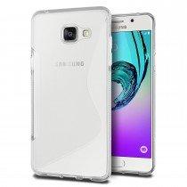 Hoesje Samsung Galaxy A3 2016 TPU case transparant