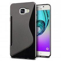 Hoesje Samsung Galaxy A3 2016 TPU case zwart
