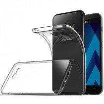 Hoesje Samsung Galaxy A3 2017 Flexi bumper - 0,3mm - doorzichtig