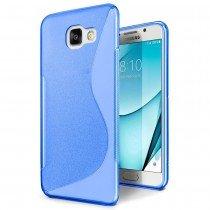 Hoesje Samsung Galaxy A3 2017 TPU case blauw