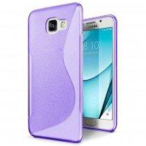 Hoesje Samsung Galaxy A3 2017 TPU case paars