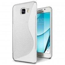Hoesje Samsung Galaxy A3 2017 TPU case transparant