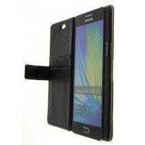 Hoesje Samsung Galaxy A5 flip wallet zwart