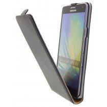 Hoesje Samsung Galaxy A7 flip case dual color zwart