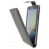 Hoesje Samsung Galaxy A7 flip case zwart