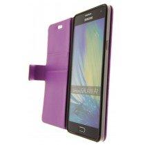 Hoesje Samsung Galaxy A7 flip wallet paars