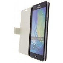 Hoesje Samsung Galaxy A7 flip wallet wit