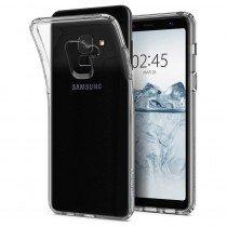Hoesje Samsung Galaxy A8 2018 Flexi bumper - 0,3mm - doorzichtig