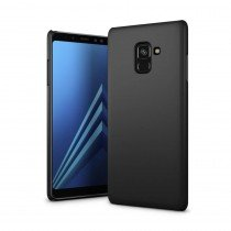 Hoesje Samsung Galaxy A8+ 2018 hard case zwart