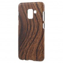 Hoesje Samsung Galaxy A8 2018 hout - wood case