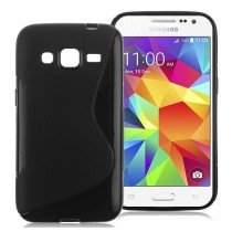 Hoesje Samsung Galaxy Core Prime TPU case zwart