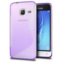 Hoesje Samsung Galaxy J1 Mini TPU case paars