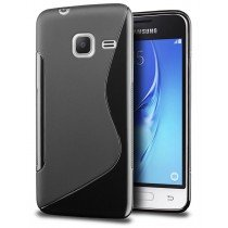 Hoesje Samsung Galaxy J1 Mini TPU case zwart