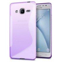 Hoesje Samsung Galaxy J2 2016 TPU case paars
