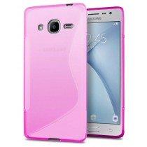 Hoesje Samsung Galaxy J2 2016 TPU case roze