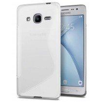 Hoesje Samsung Galaxy J2 2016 TPU case transparant