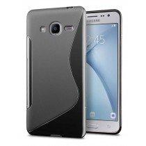 Hoesje Samsung Galaxy J2 2016 TPU case zwart