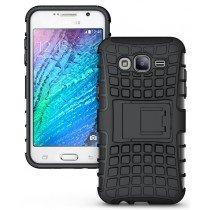 Hoesje Samsung Galaxy J3 2016 ballistic case zwart