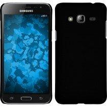 Hoesje Samsung Galaxy J3 2016 hard case zwart