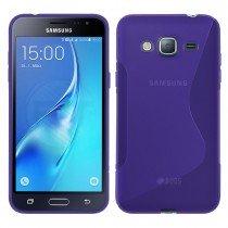 Hoesje Samsung Galaxy J3 2016 TPU case paars