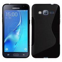 Hoesje Samsung Galaxy J3 2016 TPU case zwart