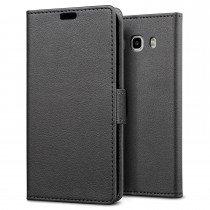 Hoesje Samsung Galaxy J5 2016 flip wallet zwart