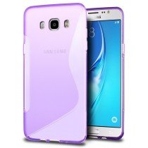 Hoesje Samsung Galaxy J5 2016 TPU case paars