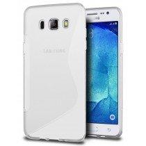 Hoesje Samsung Galaxy J5 2016 TPU case transparant