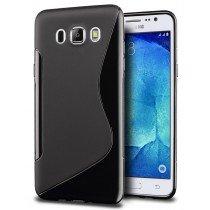 Hoesje Samsung Galaxy J5 2016 TPU case zwart