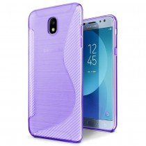 Hoesje Samsung Galaxy J5 2017 TPU case paars