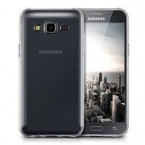 Hoesje Samsung Galaxy J5 Flexi bumper - 0,3mm - doorzichtig