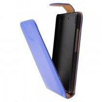 Hoesje Samsung Galaxy J5 flip case blauw