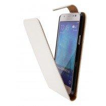 Hoesje Samsung Galaxy J5 flip case wit