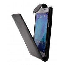 Hoesje Samsung Galaxy J5 flip case zwart - open