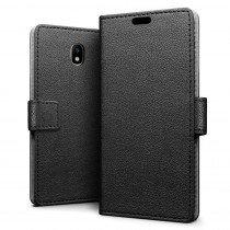 Hoesje Samsung Galaxy J7 2017 flip wallet zwart