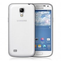 Hoesje Samsung Galaxy S4 Mini Flexi bumper - 0,3mm - doorzichtig